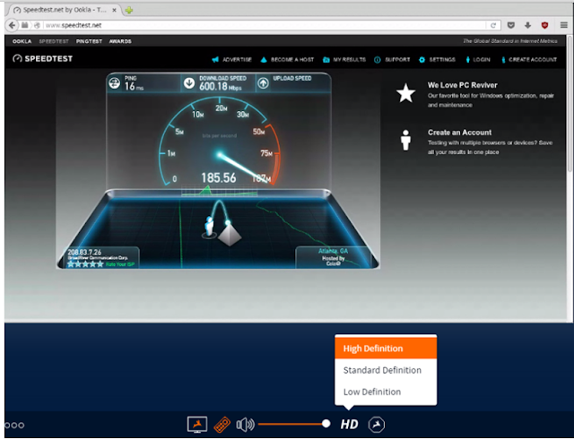 Browse 1000mbps internet speed