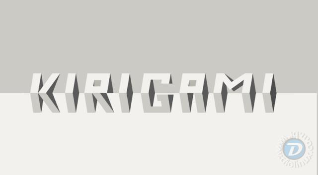 KIrigami UI KDE