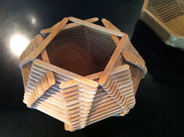 How To Make Craft Items With Ice Cream Sticks