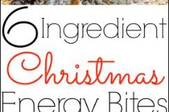 Christmas Energy Bites Recipe