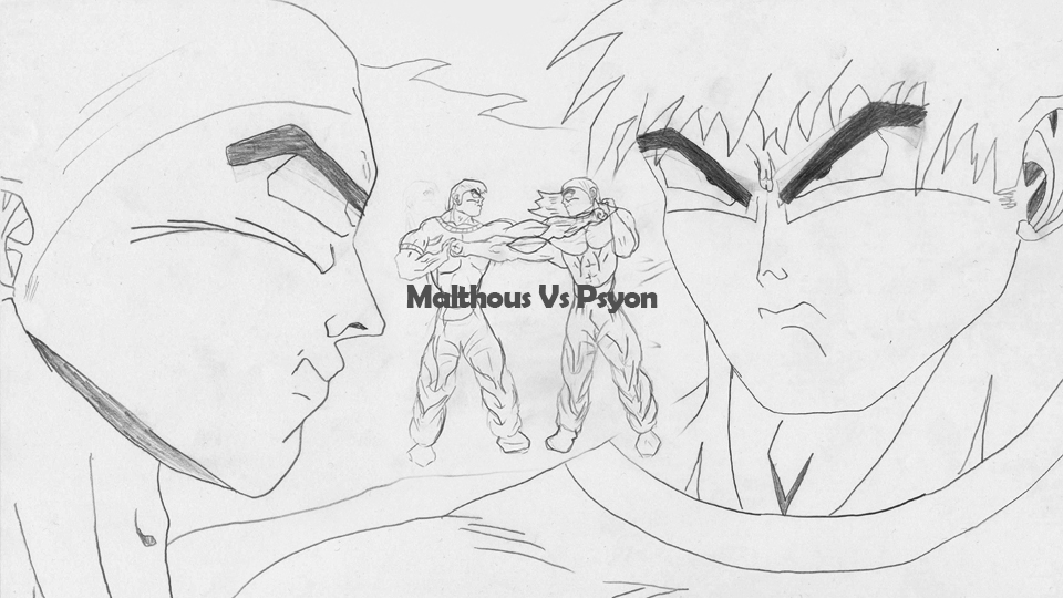 Malthous Vs Psyon (2D Animation Video)