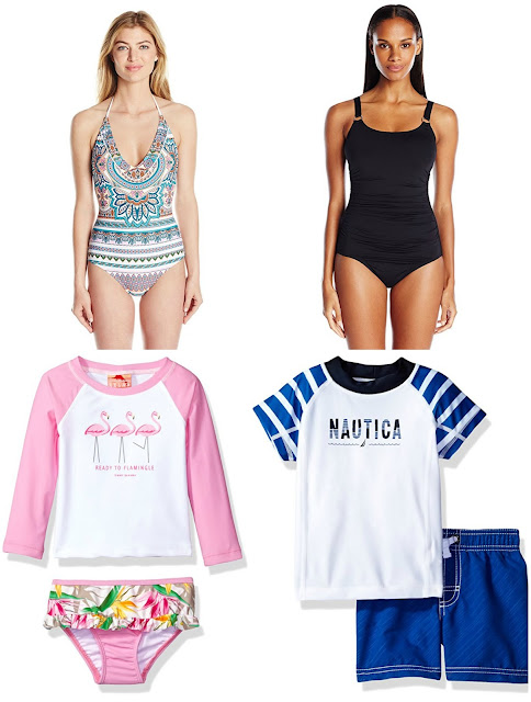 Amazon: Up to 60% off Swimsuits and Rash Guards!