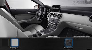 Mercedes A200 2015 màu Nội thất Xám Crystal 118