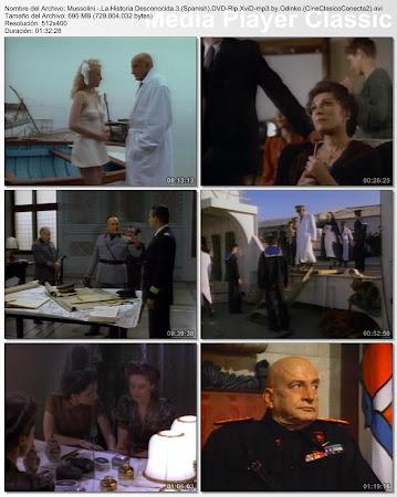 Secuencias de la serie: Mussolini: la historia desconocida (TV) | 1985