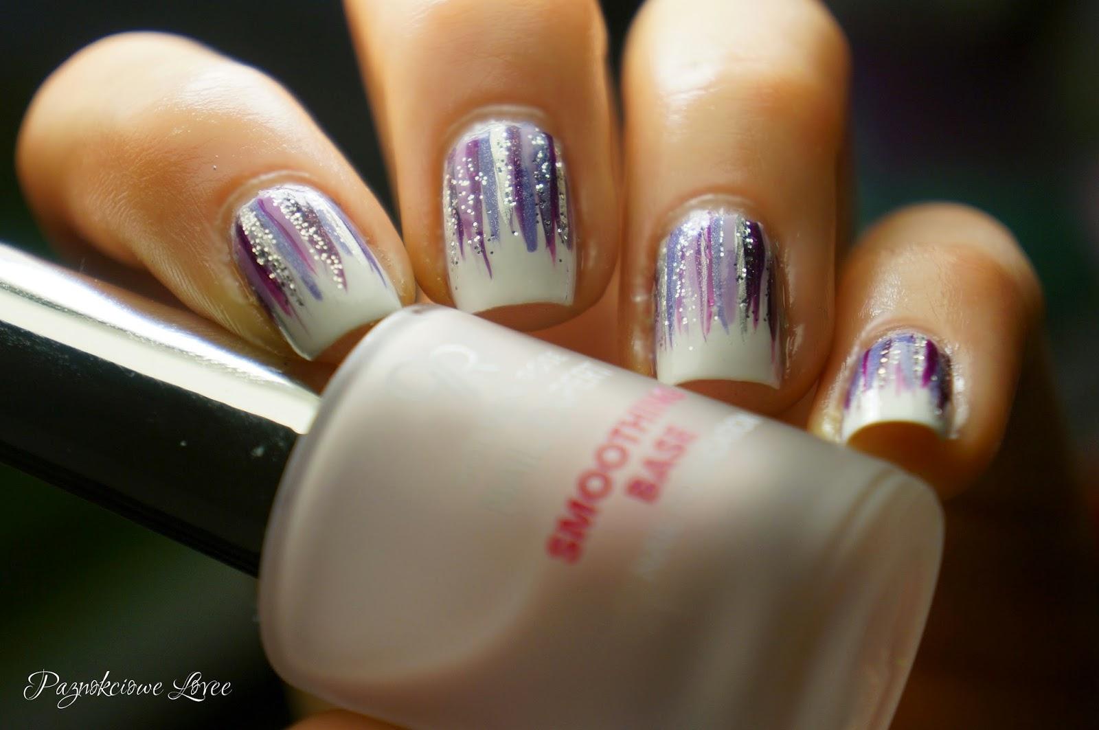 Mani swap & waterfall nail art, czyli pierwszy raz x2