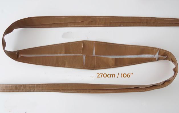 Sarmalı Kemer Yapımı-Resimli Anlatım