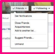 How to block someone on facebook account