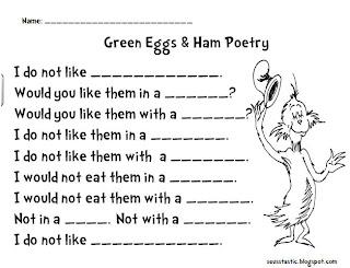 Green Eggs and Ham Freebie