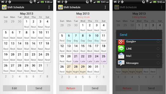 Download Shift Calendar App Premium v1.7.1 b165 Android