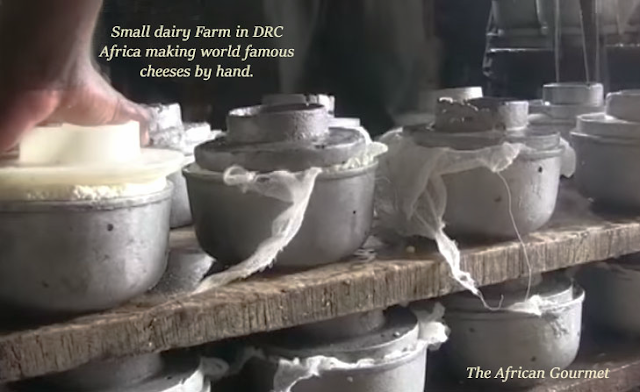 To produce Kivu cheese usually no modern equipment is used, just years of experience and know-how
