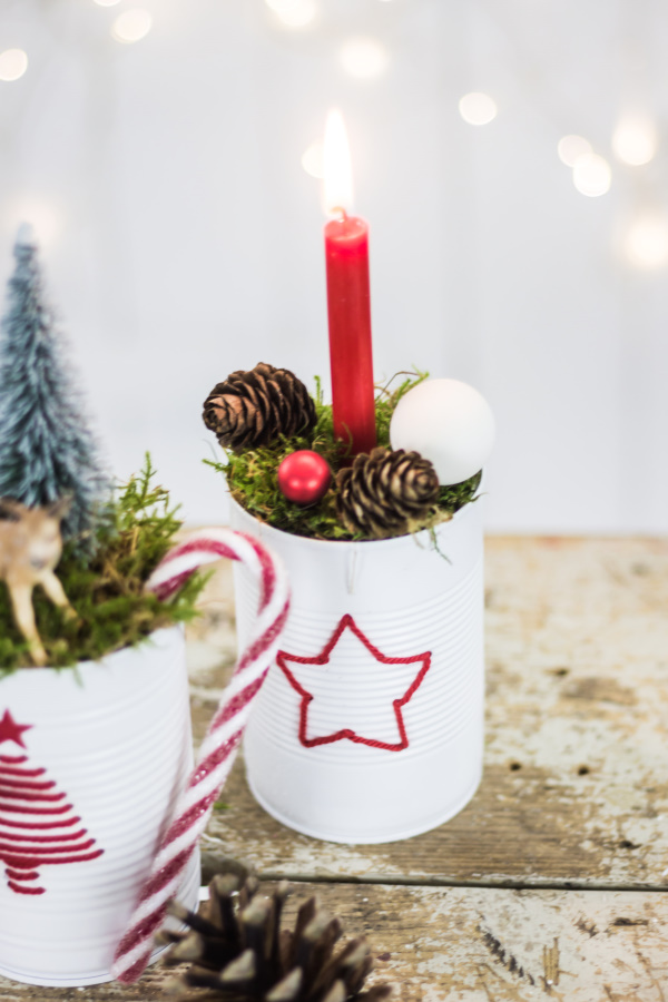 Advent, Advent: DIY Deko aus Dosen | by titatoni