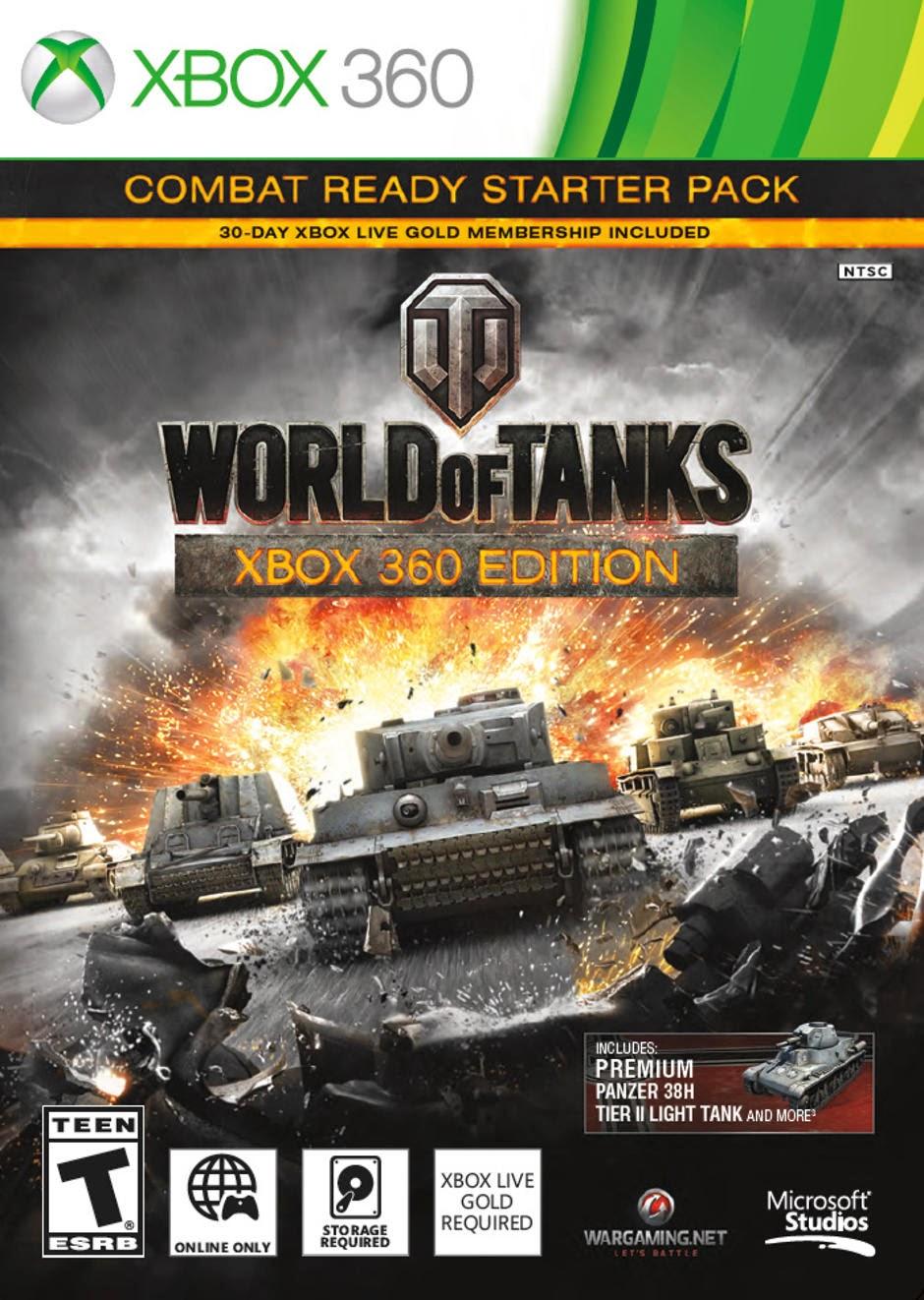World Of Tanks ESPAOL XBOX 360