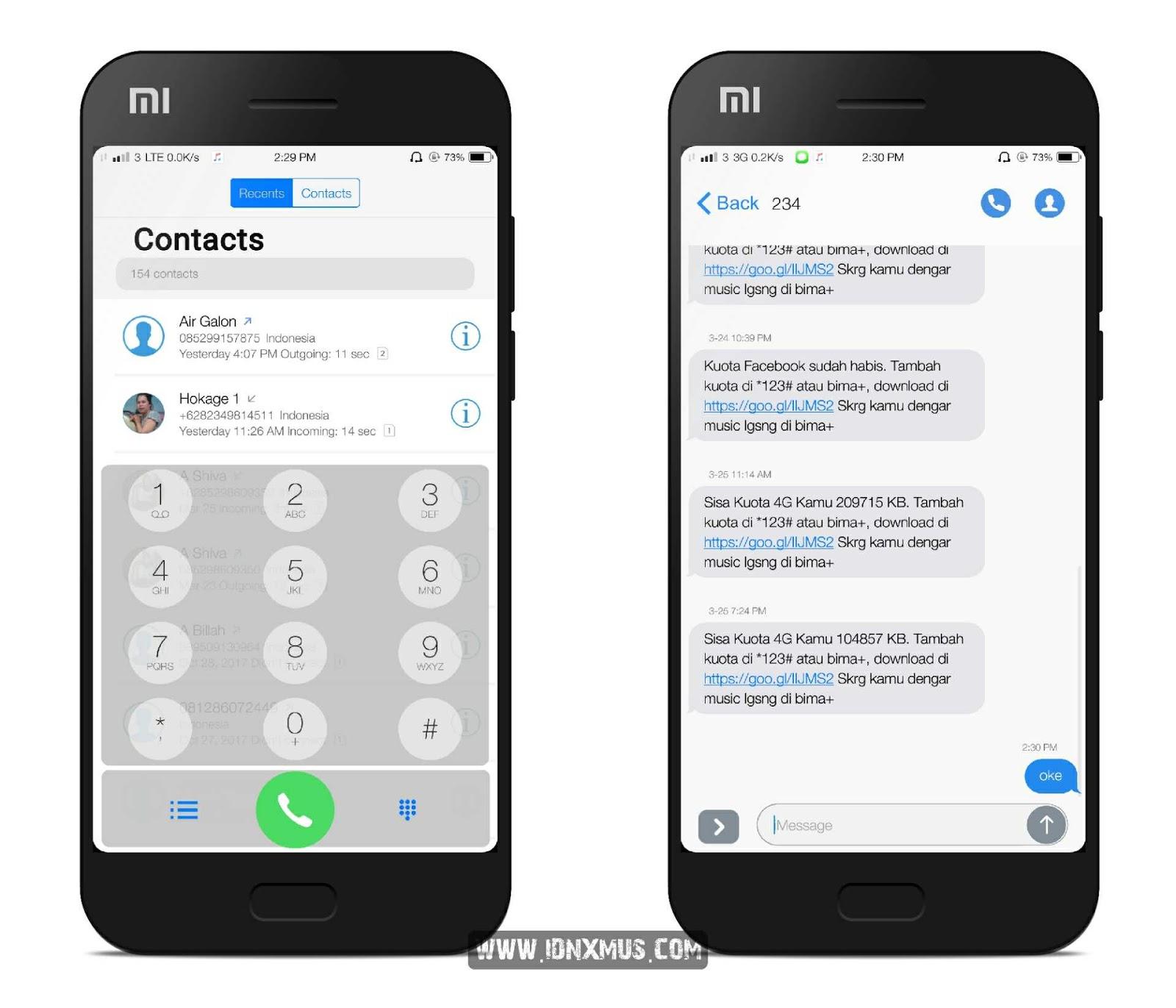 MIUI Theme MiBose iOS 12.2x