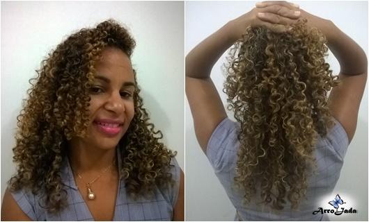 Linha Explosão de Cachos Umidi Hair Arrojada Mix
