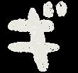 カタカナのペンキ文字「ギ」
