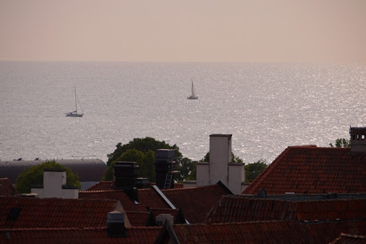 Sailing blog | S/Y Dolphin Dance | a Finnish Hallberg-Rassy 29 sailing in the Northern Europe: Sunny days in Visby