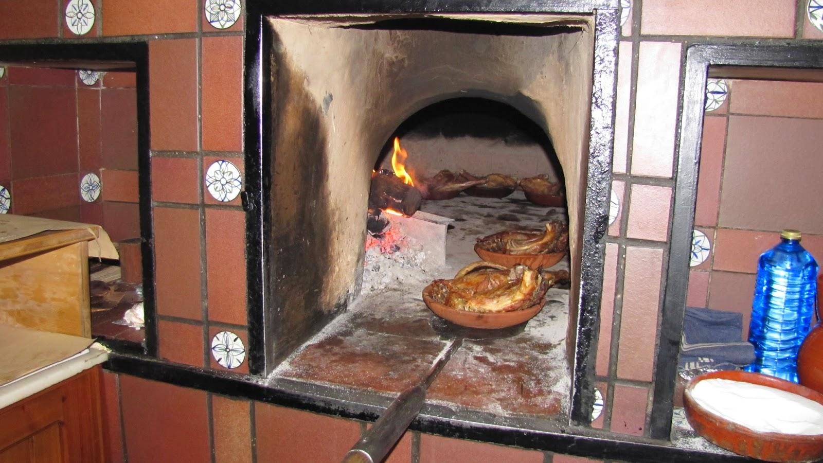 Recetas f ciles de josean mg lomo de aguja al horno de le a - Materiales para hacer un horno de lena ...