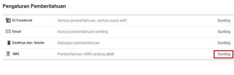 cara berhenti sms facebook 32665 AD