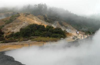 Aktivitas Vulkanik Dieng