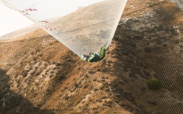 Primer hombre en saltar sin paracaídas, un veterano paracaidista