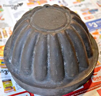 Vintage Pumpkin Tin