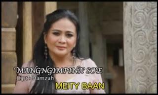 Lirik Lagu Toraja Mangngimpina' So'e (Meity Baan)