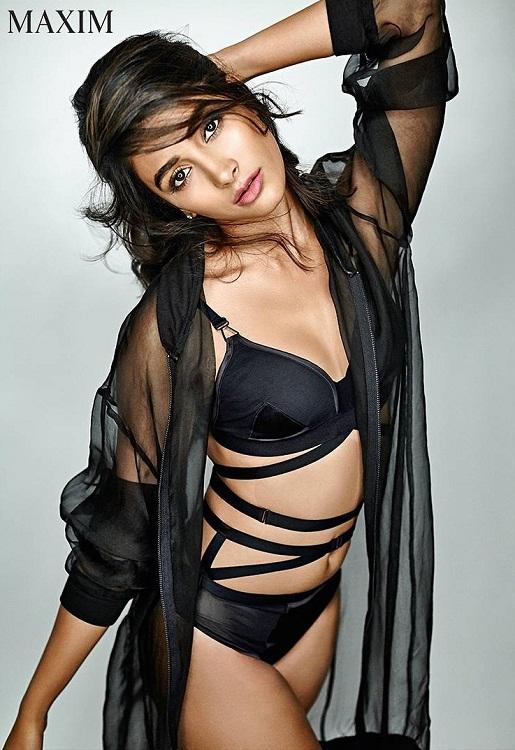 Pooja Hegde Photoshoot For Maxim India Magazine March 2017
