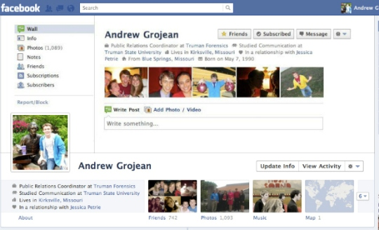 facebook timeline creative profile 3