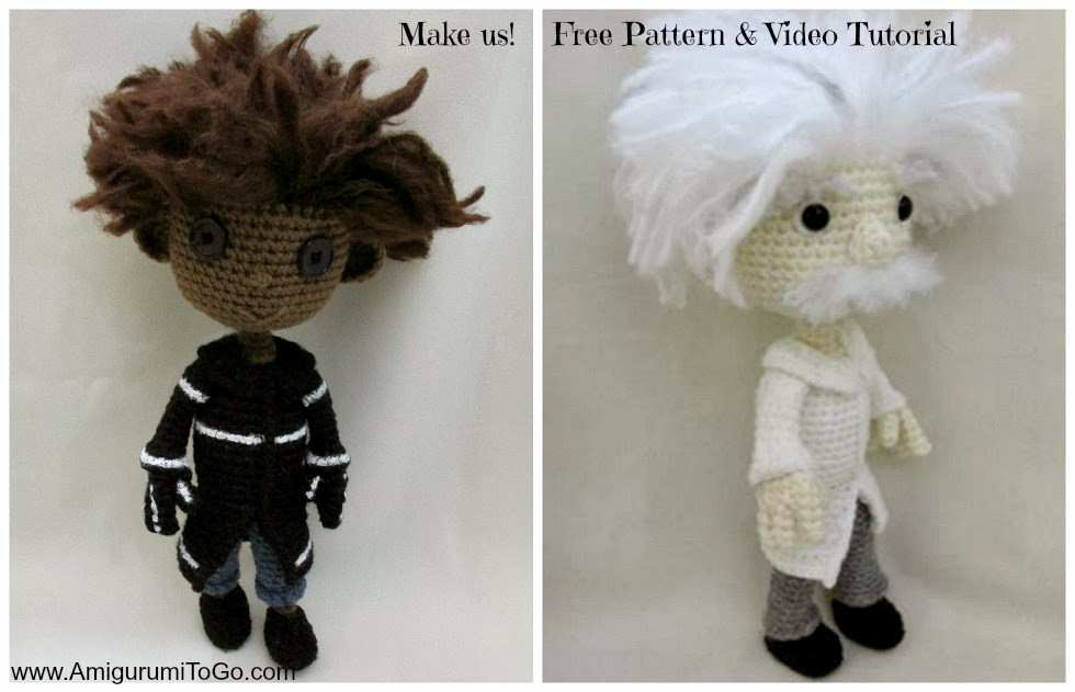 Amigurumi To Go Tutorial : Amigurumi wybie doll with video tutorial to go
