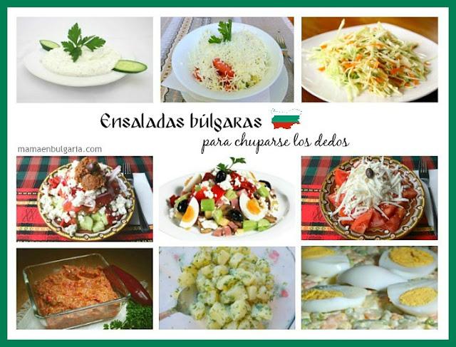 Ensaladas búlgaras tradicionales