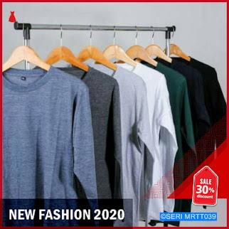 MRTT039K39 Kaos Polos Lengan Panjang Cotton Combed BMGShop