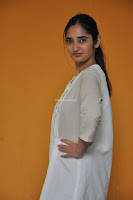 Radhika Cute Young New Actress in White Long Transparent Kurta ~  Exclusive Celebrities Galleries 078.JPG
