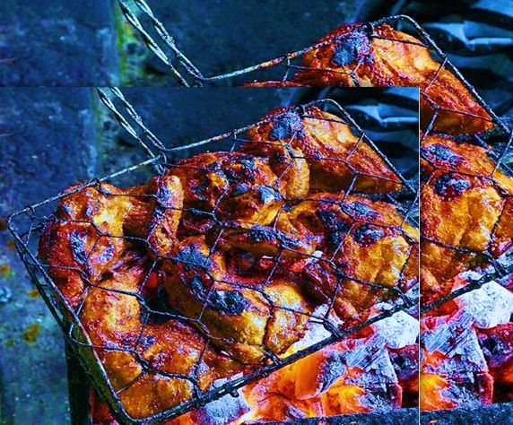 Resep Ayam Bakar Bumbu Mercon