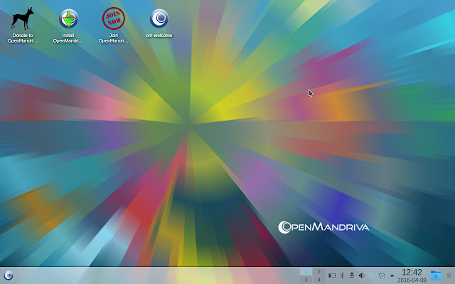 OpenMandriva KDE Desktop - First impression