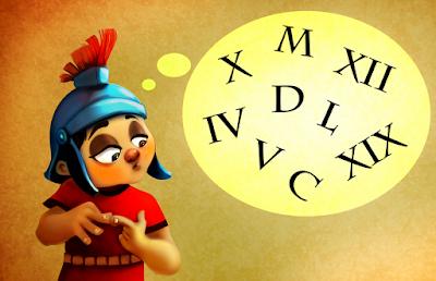 Memoria con números romanos