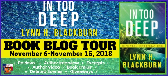 In Too Deep book blog tour promotion banner