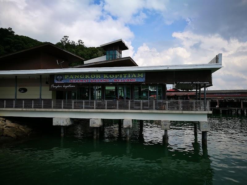 Pangkor Kopitiam, Jeti Pulau Pangkor