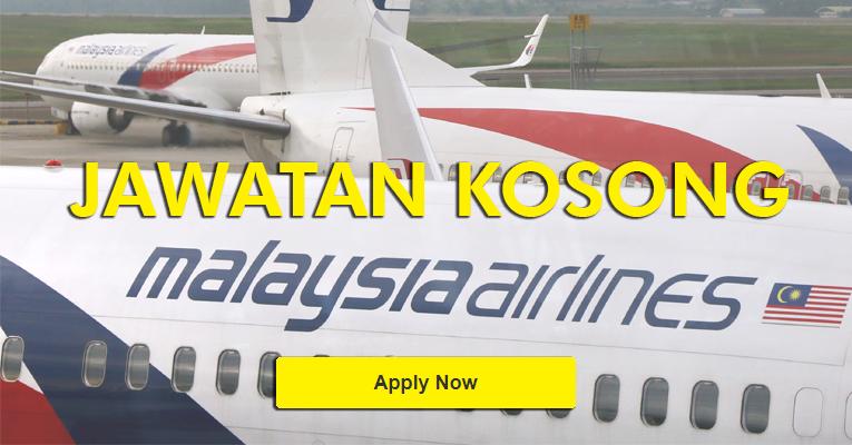 Jawatan Kosong Terkini di Malaysia Airlines
