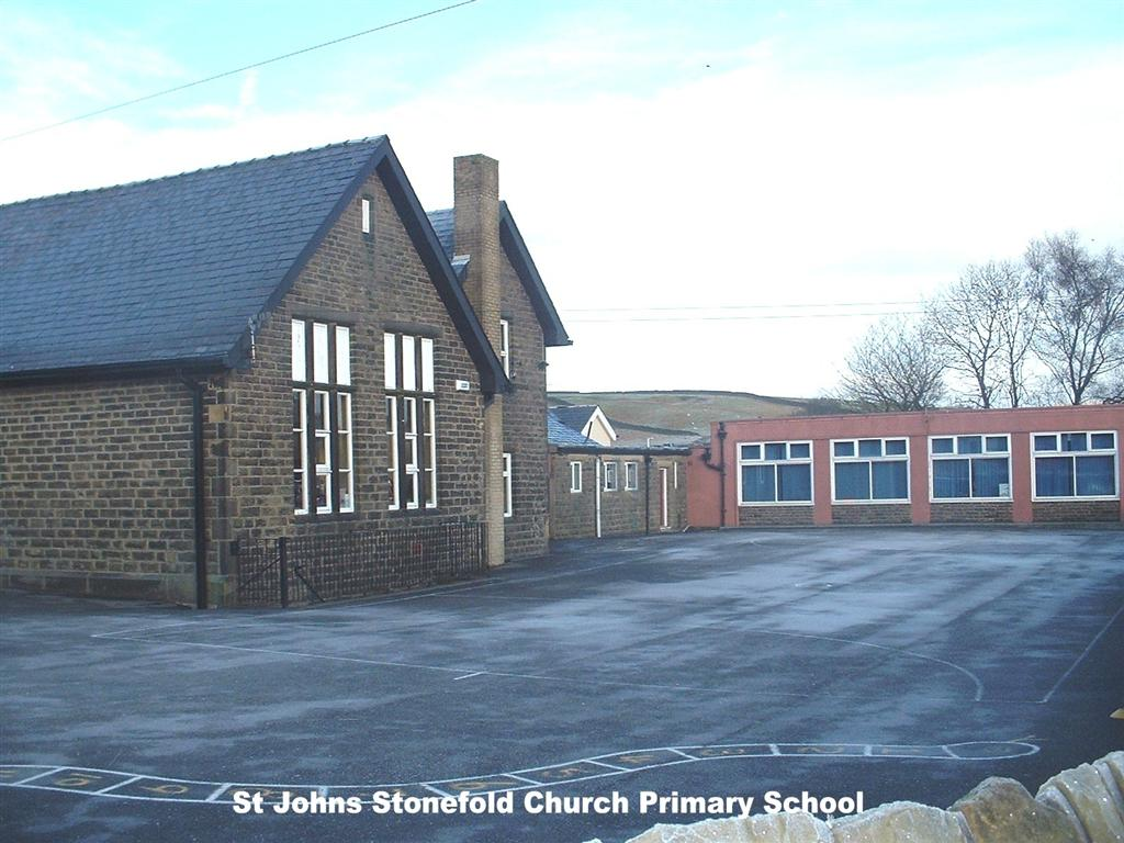 Haslingden Old and New   : St  John's Stonefold School and Student