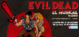 Evil Dead el musical en Kinepolis