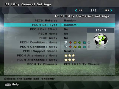 PES 6 PECH Next-Generation Patch 2017/2018 [ English Version ]