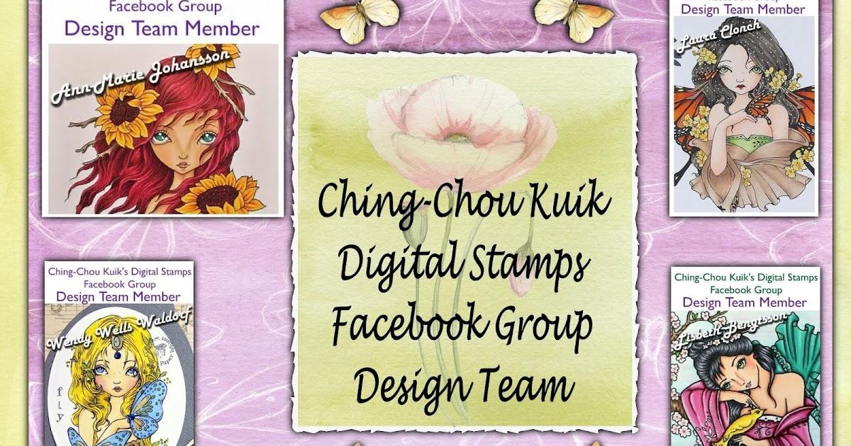 Kym S Crafty Cards Ching Chou Kuik Digital Stamps