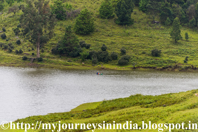 Lake at Mannavanur Grass Lands Kodaikanal