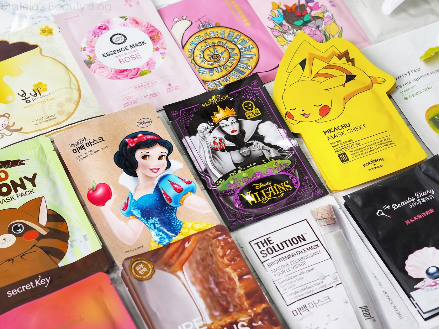 New in: Asian Beauty Part 3 - Sheet Masks
