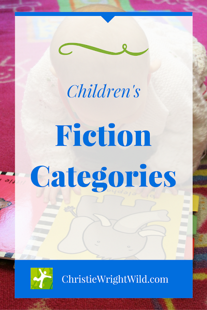 Children's Fiction Categories || age ranges of children's books | picture books through young adult | book categories | children's age groups