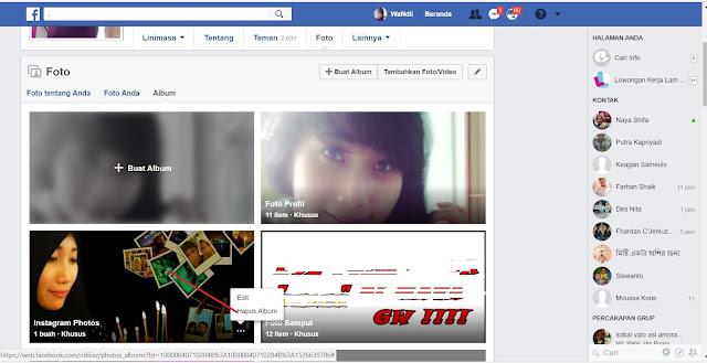 Cara Menghapus Semua Foto Di Facebook dengan Mudah