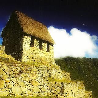 Machu Picchu - Posto de Vigilância ou Cabana do Guardião