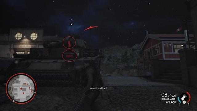 Cara menghancurkan Tank di Sniper Elite 4