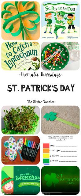 Recopilación de canciones, cuentos, imprimibles, experimentos, juegos y manualidades sobre la festividad irlandesa del día de San Patricio para el próximo 17 de Marzo especialmente pensada para utilizar en el aula de educación infantil y primaria en inglés.