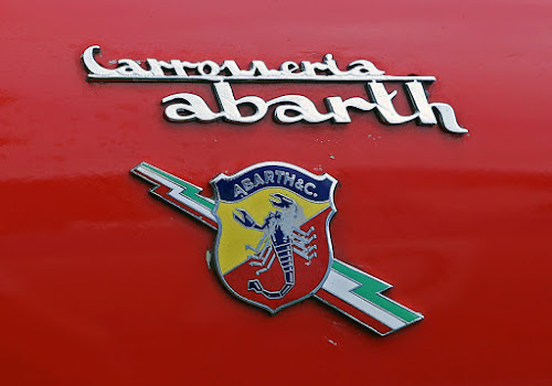 1960s Abarth Logo with Lightning Bolt